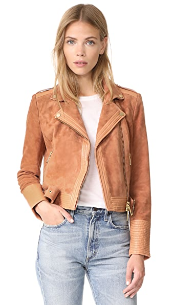 Rachel Zoe Hastings Jacket In Pink Taupe