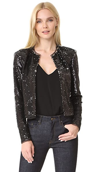 Rachel Zoe Dolly Jacket In Black