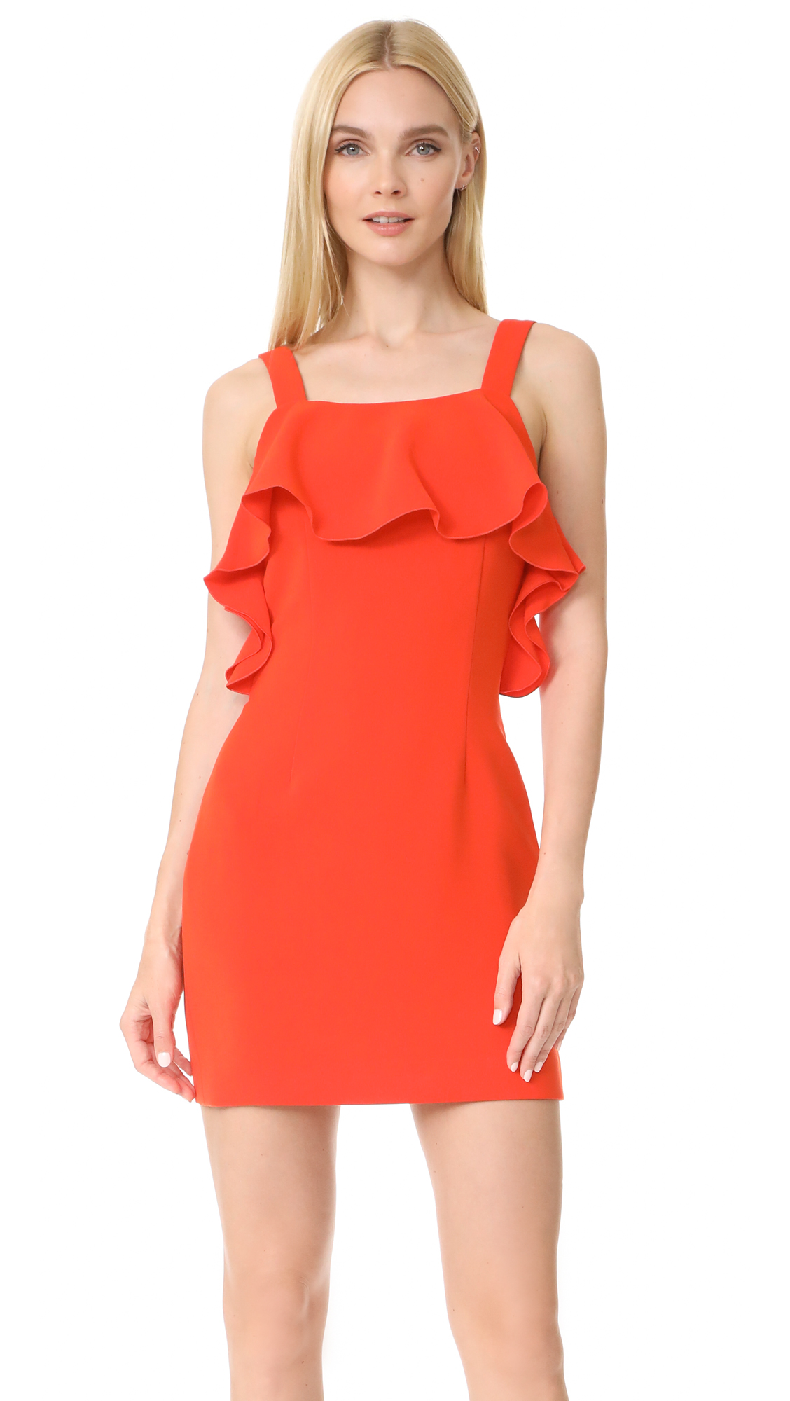 Rachel Zoe Weyford Dress - Dark Coral
