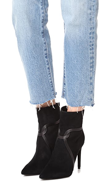 Rachel Zoe Liana High Heel Pointed Toe Booties
