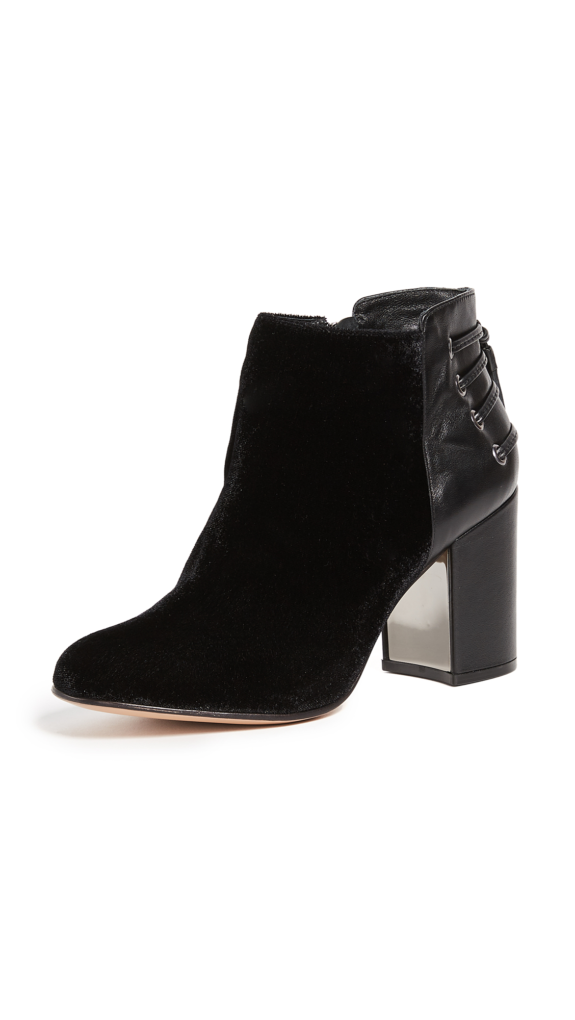 Rachel Zoe Twiggy 2 Booties - Black