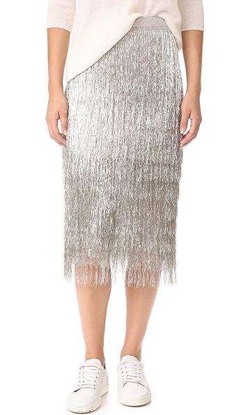 Rachel Zoe Delilah Skirt - Platinum