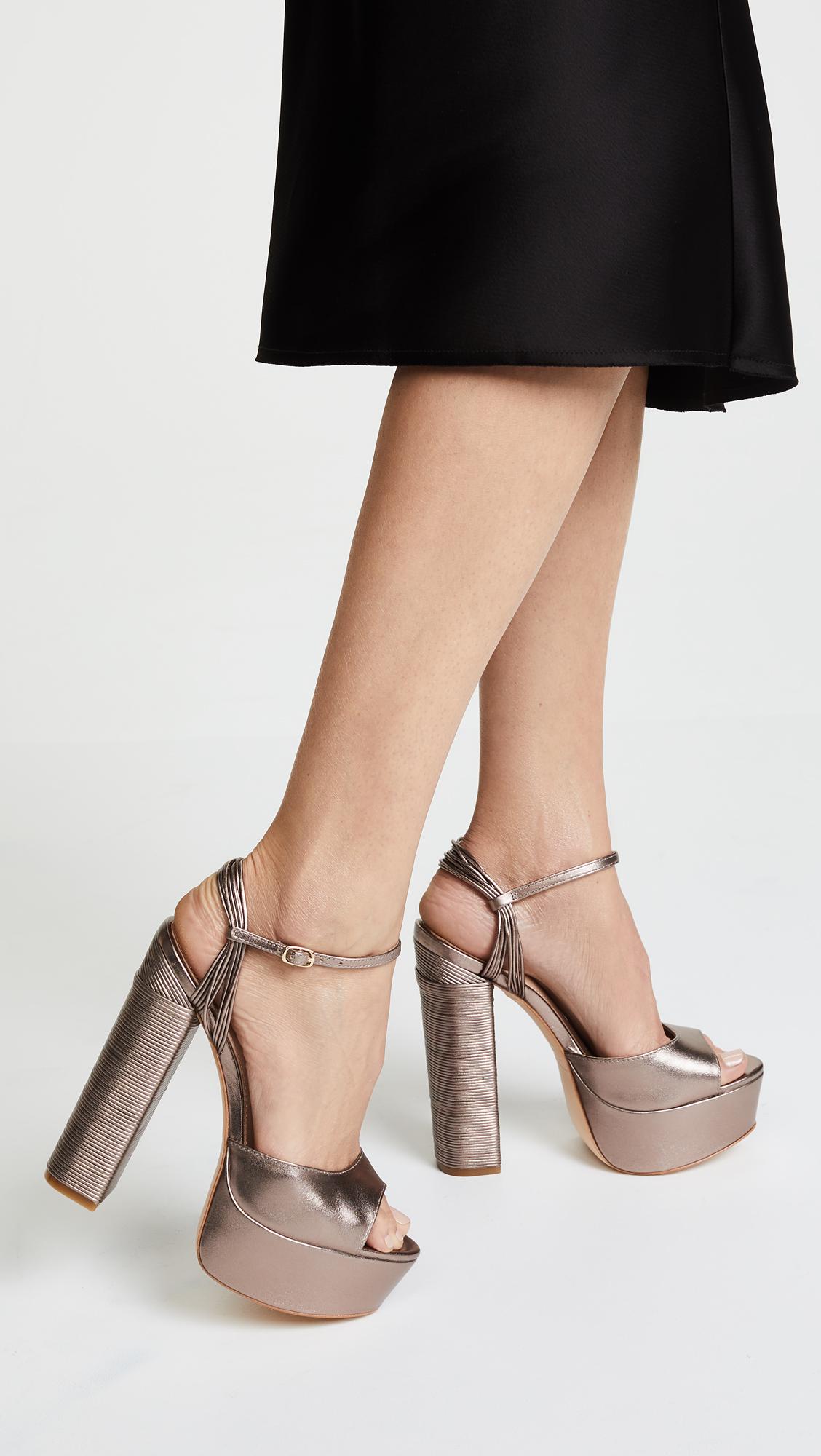 59123dc9180 Rachel Zoe Willow Platform Sandals
