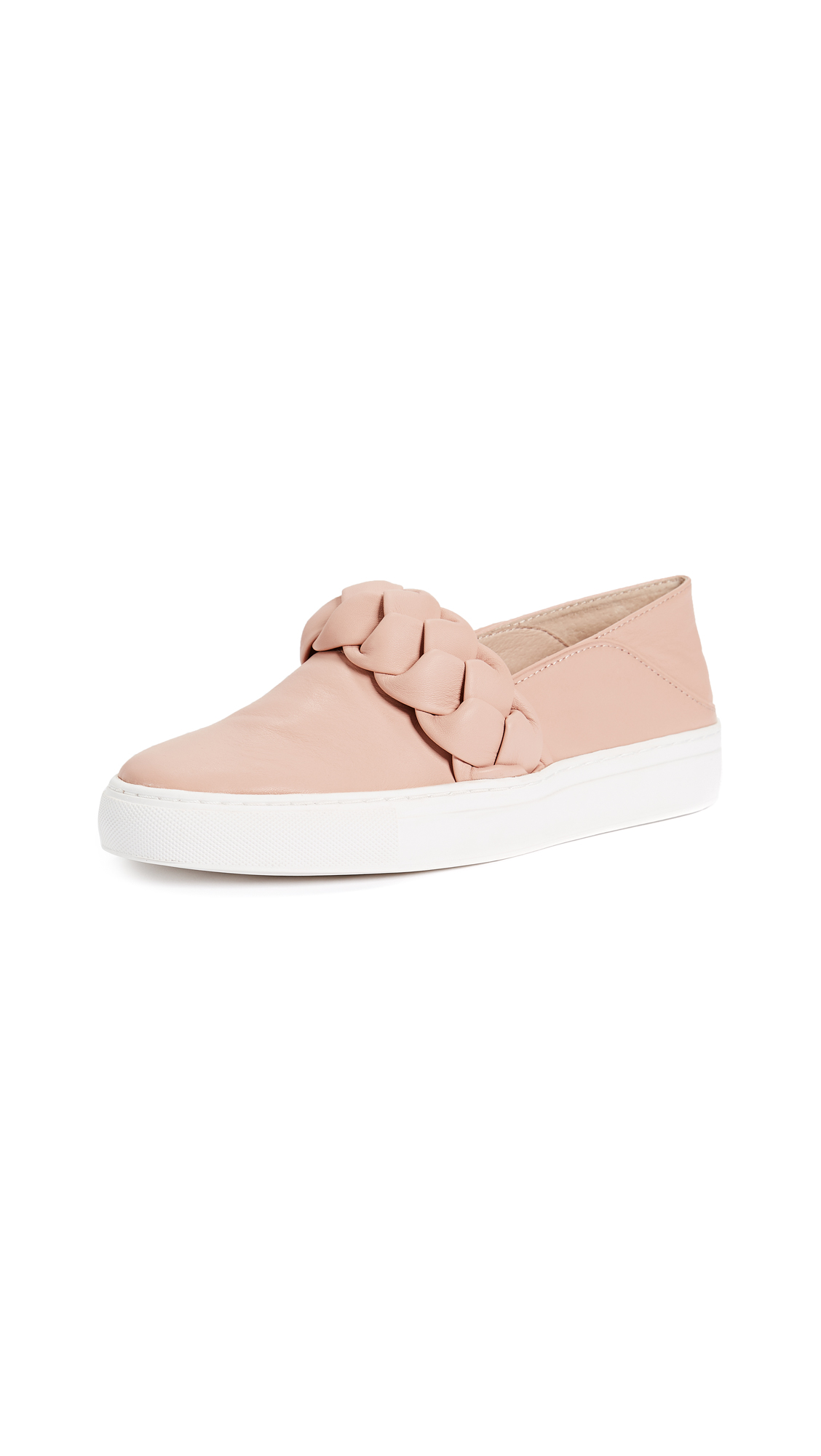 Rachel Zoe Burke Braid Sneakers - Blush