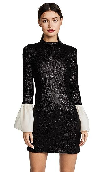 Rachel Zoe Wes Dress In Black