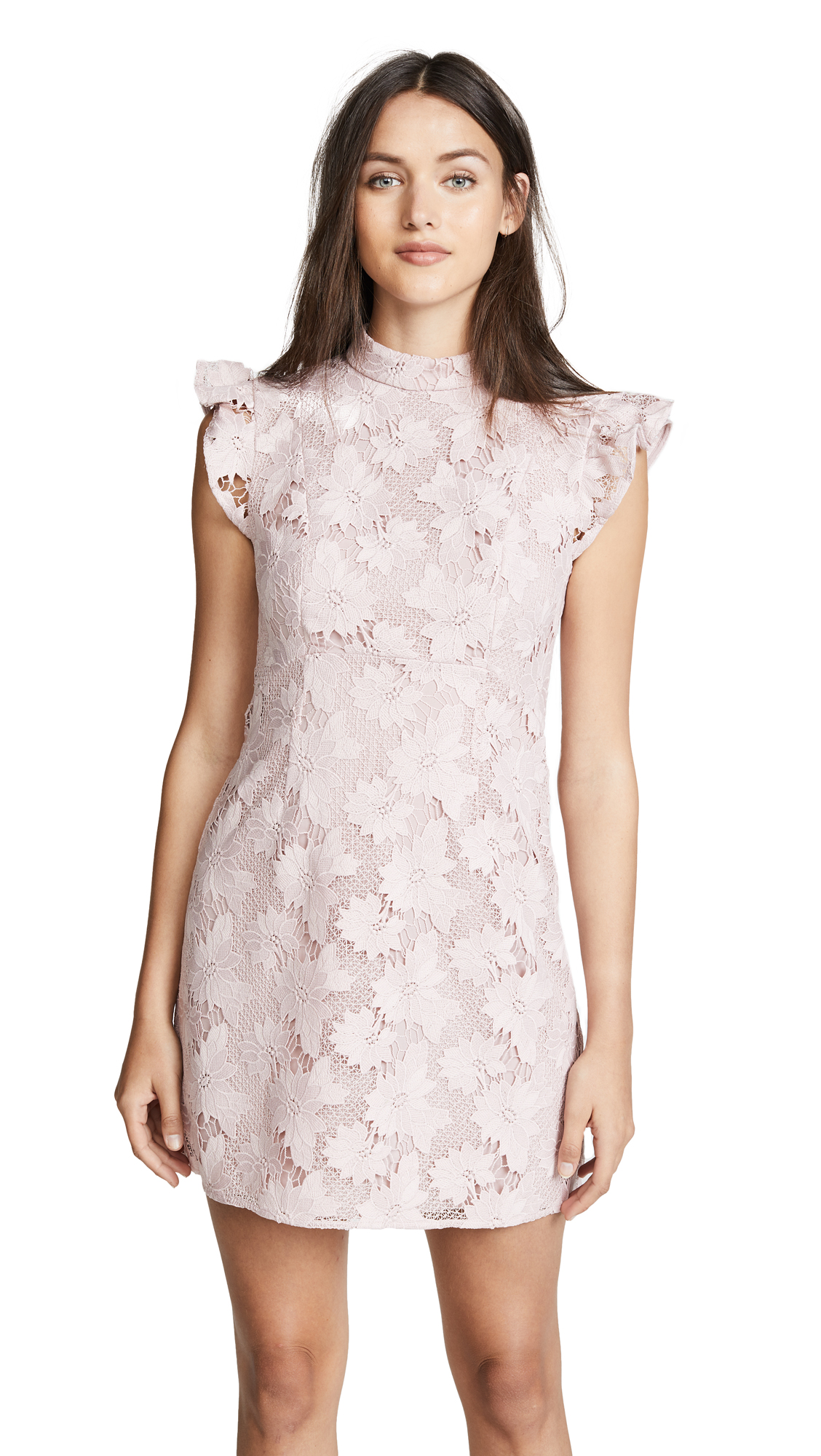 Rachel Zoe Alaya Dress In Faded Rose