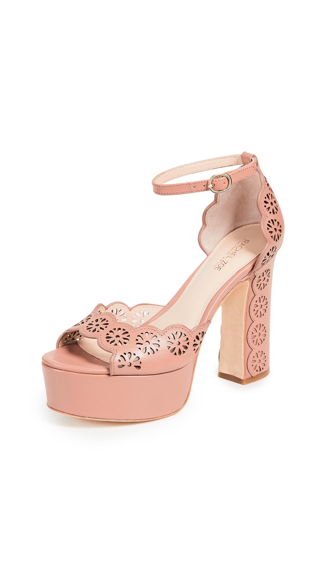 Rachel Zoe Jenelle Platform Sandals - Cedar