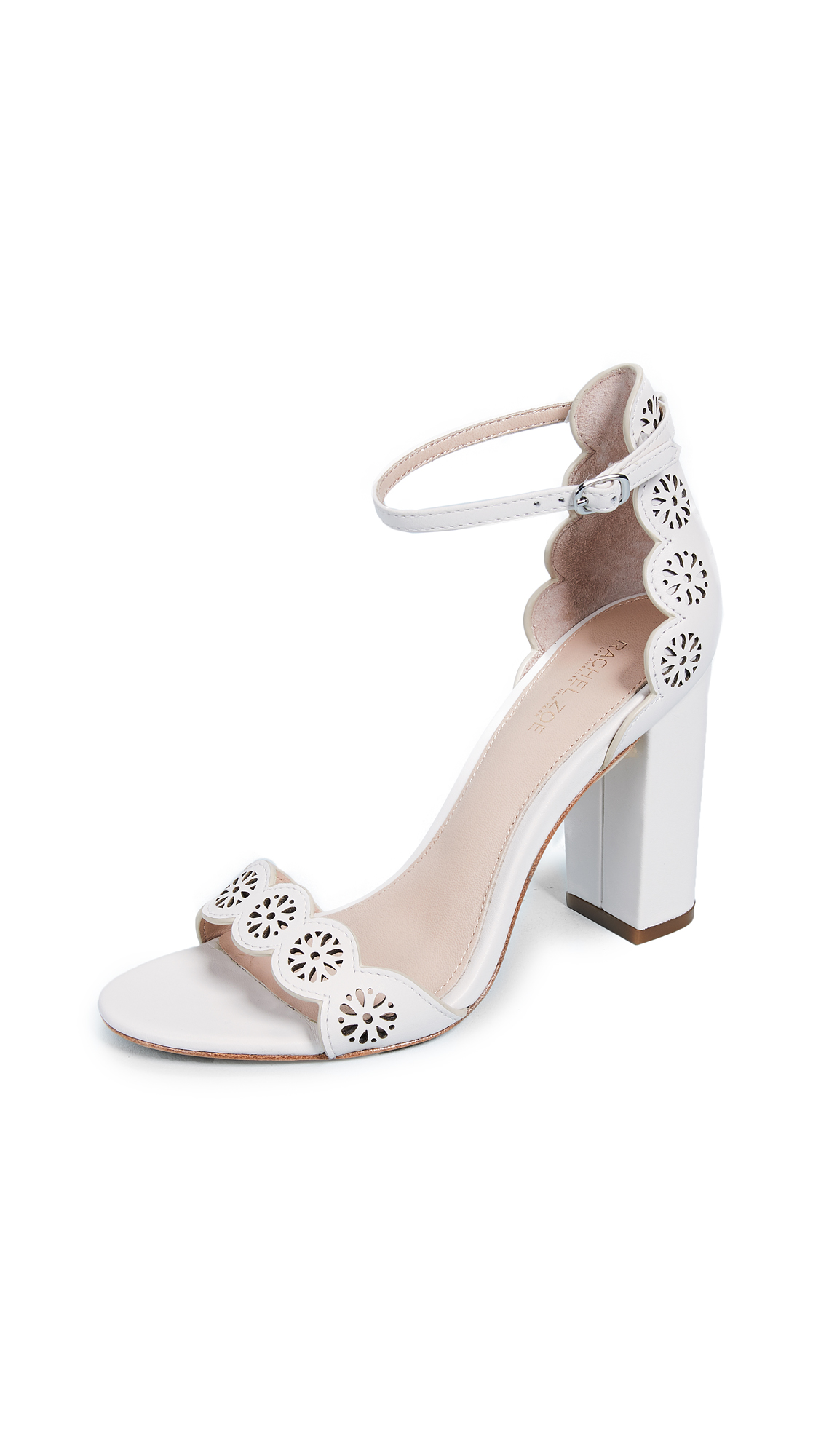 Rachel Zoe Waverly Sandals - Ecru