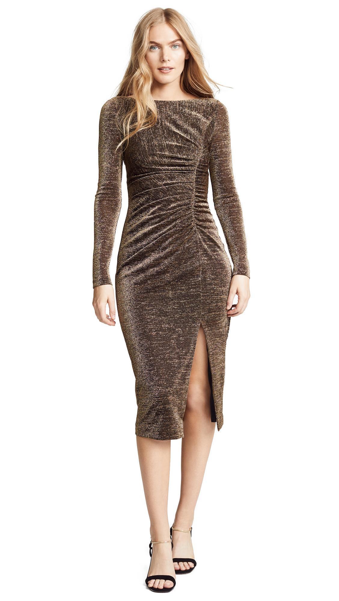 Rachel Zoe Lovey Dress - Black/Gold