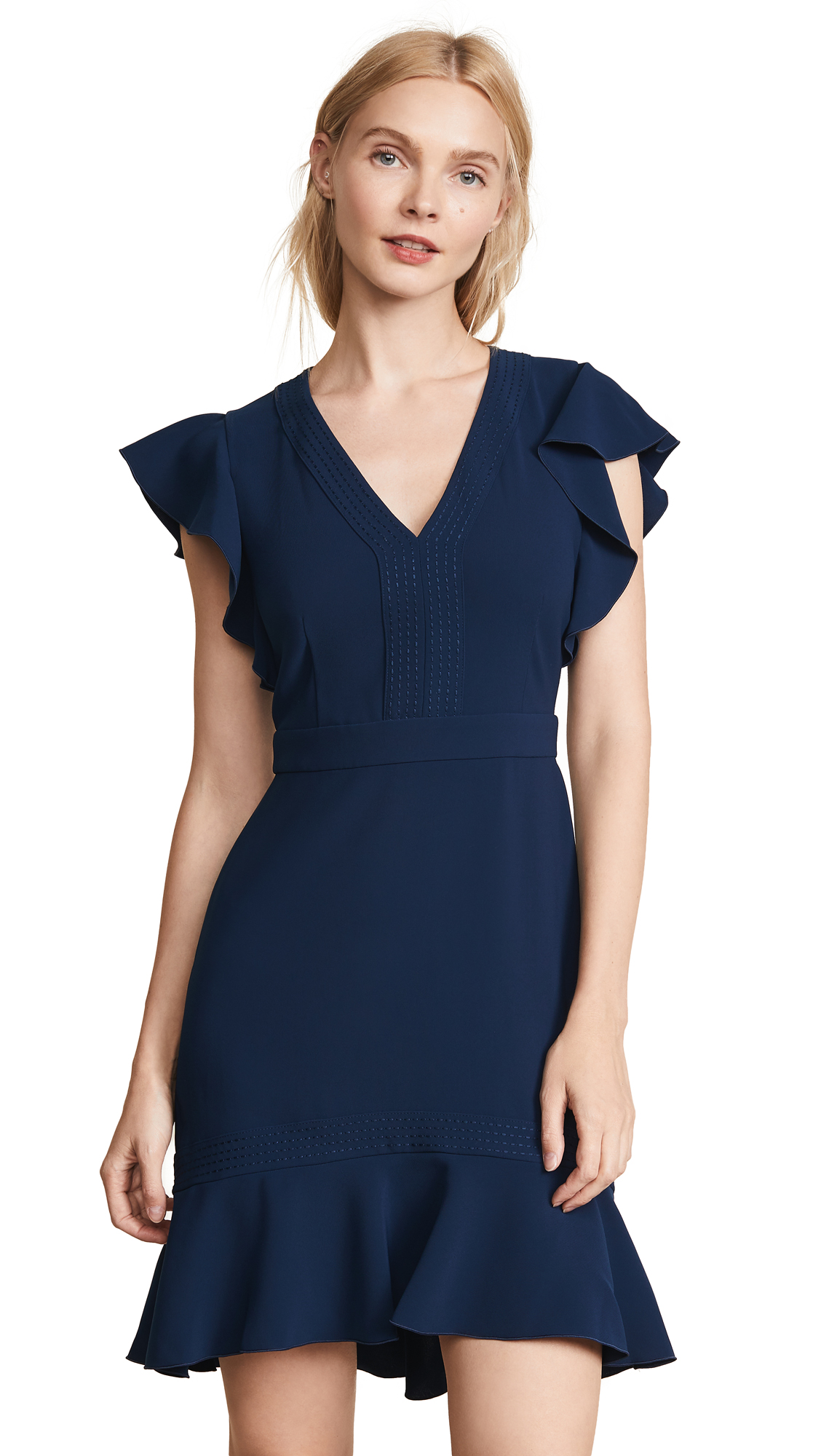 Rachel Zoe Uma Dress - Navy