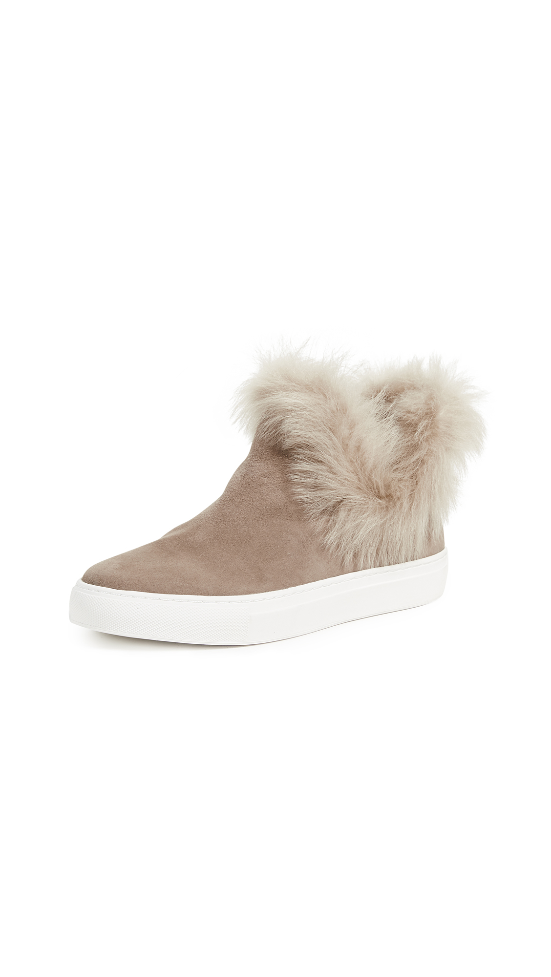 Rachel Zoe Brooklyn Bootie Sneakers - Taupe