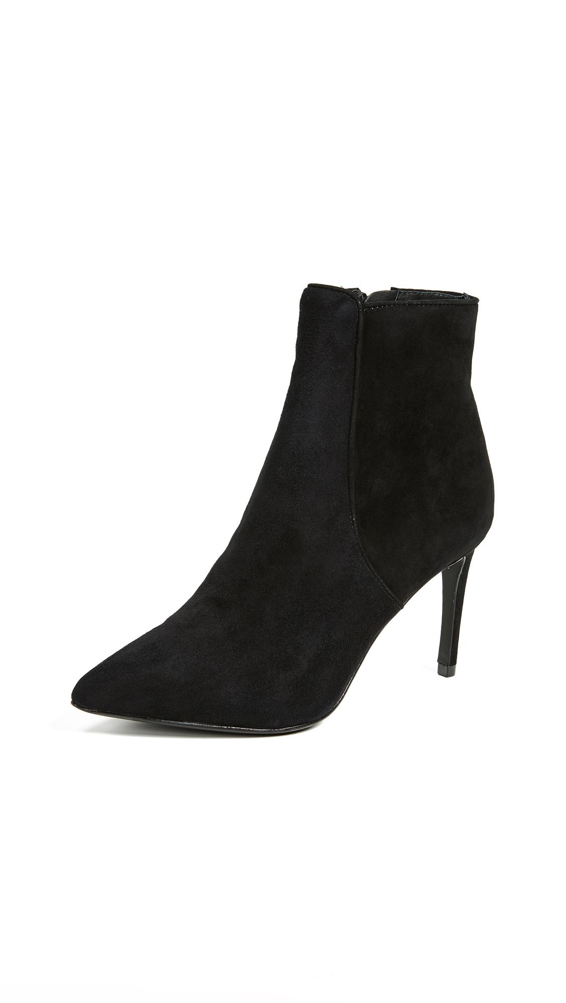 Rachel Zoe Morgan Point Toe Booties - Black