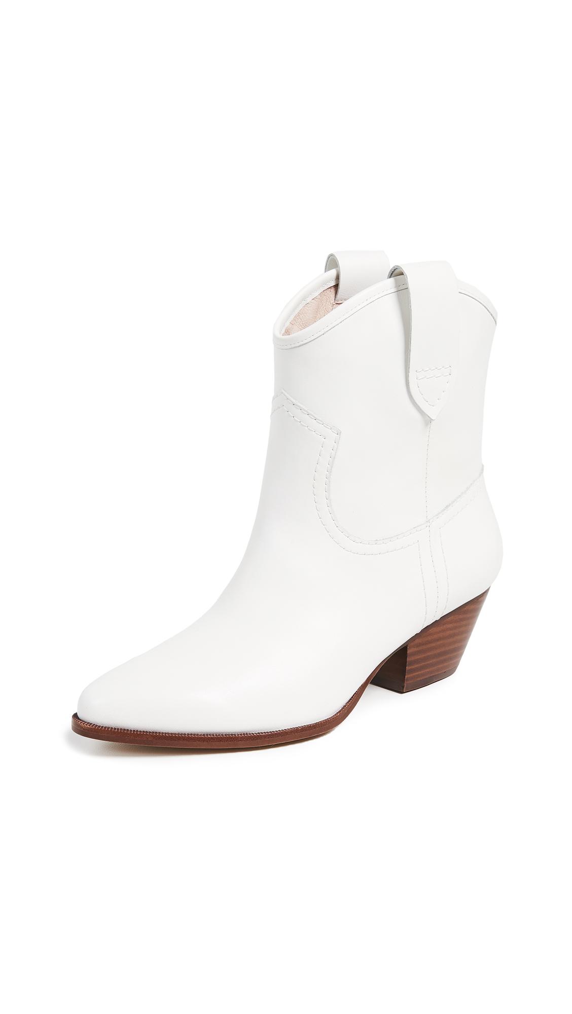 Rachel Zoe Cameron Western Boots - White