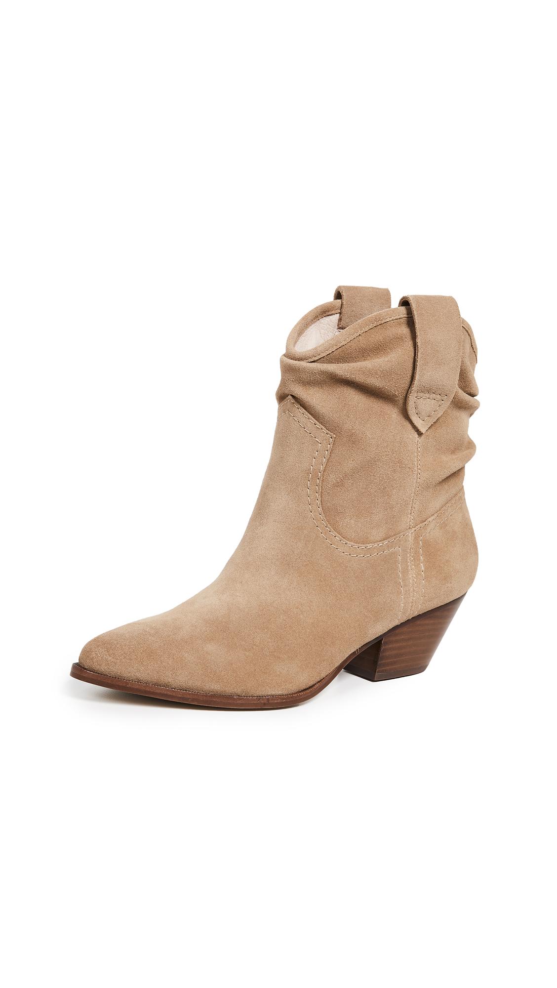 Rachel Zoe Clay Western Boots - Camel