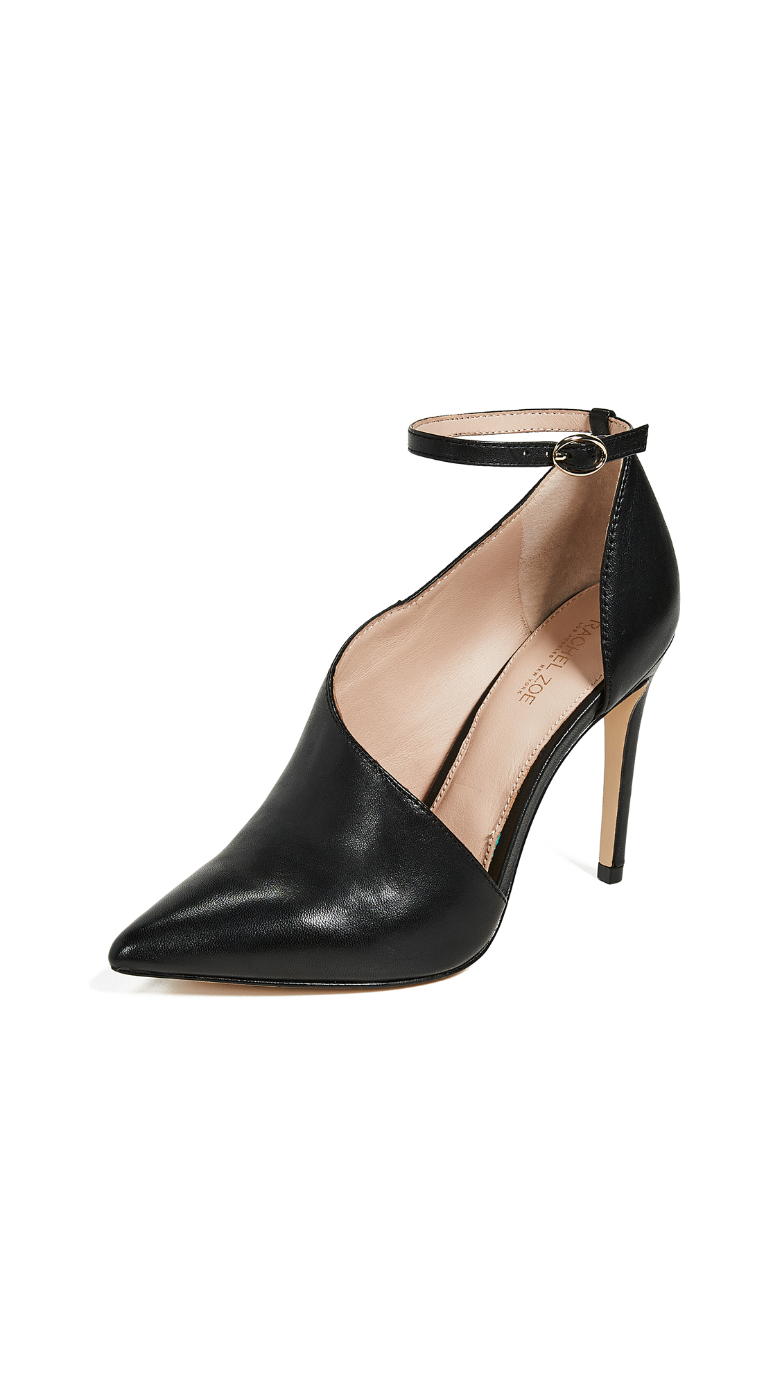 Rachel Zoe Skylar Ankle Strap Pumps - Black