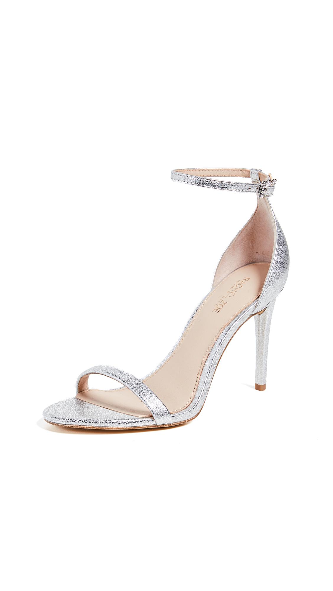 Rachel Zoe Ema Crystal Sandals - Silver