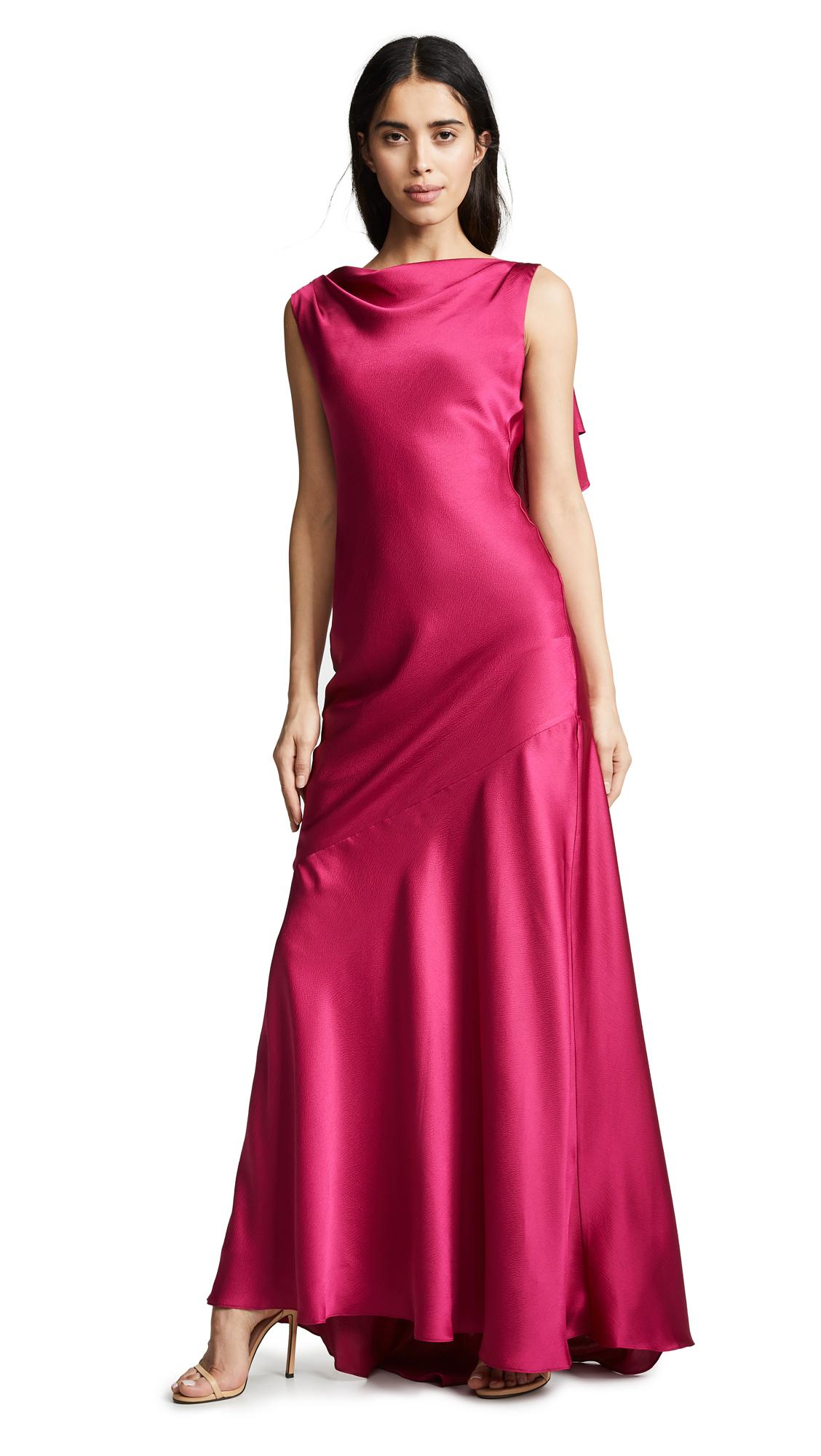 Rachel Zoe Ami Gown - Royal Fuchsia