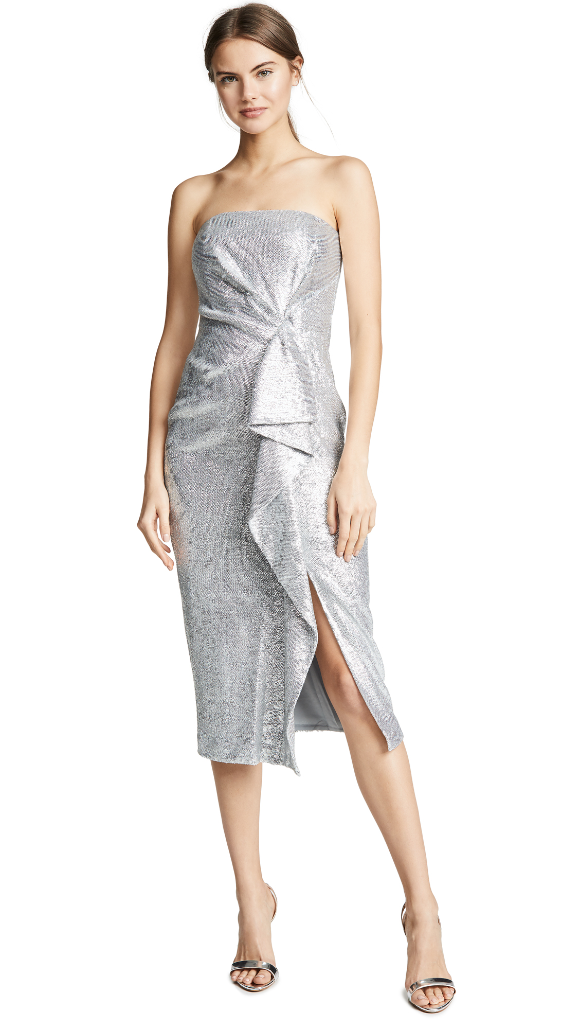 Rachel Zoe Krista Dress - Silver