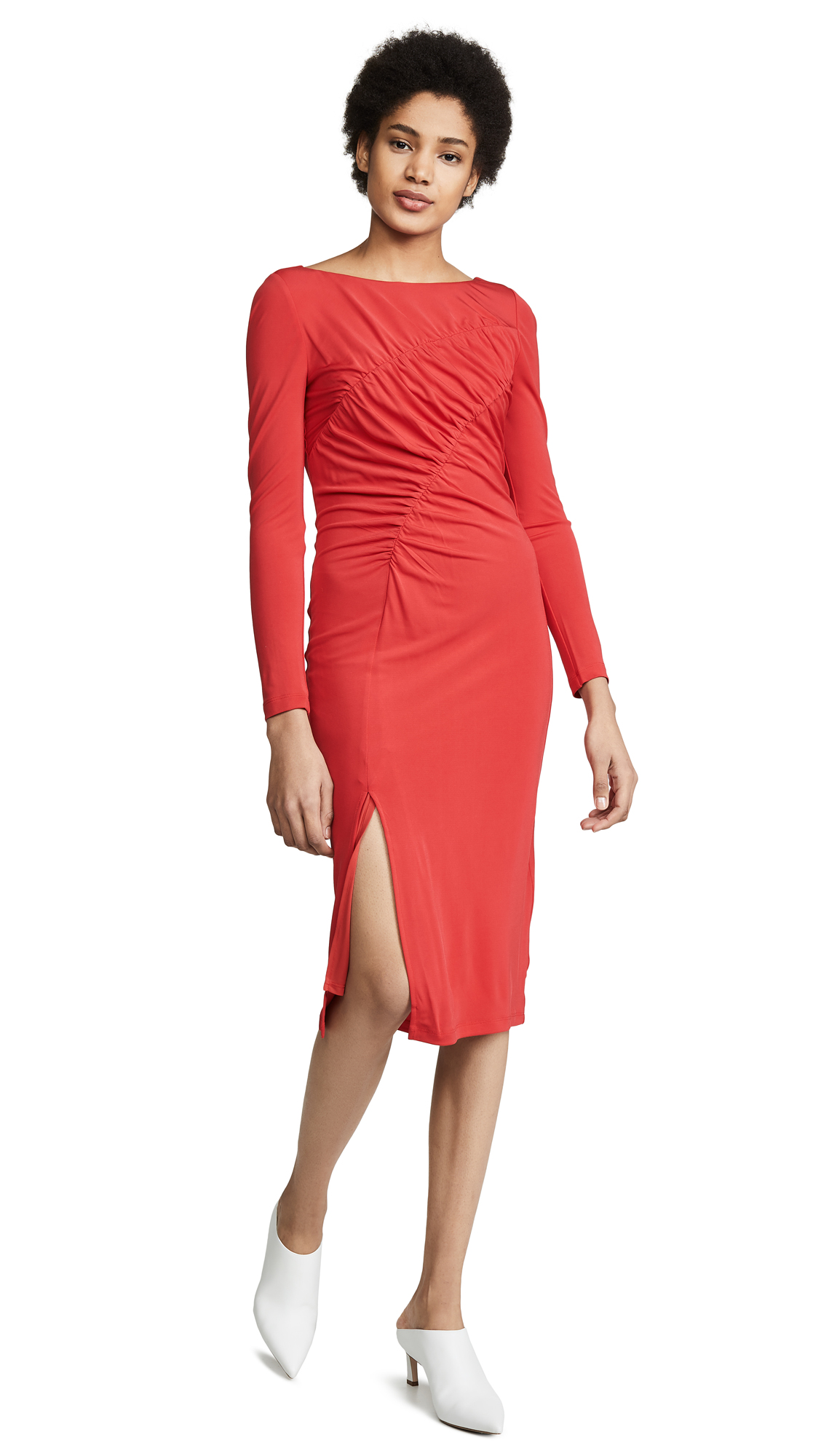 Rachel Zoe Fabiana Dress - Poppy Red