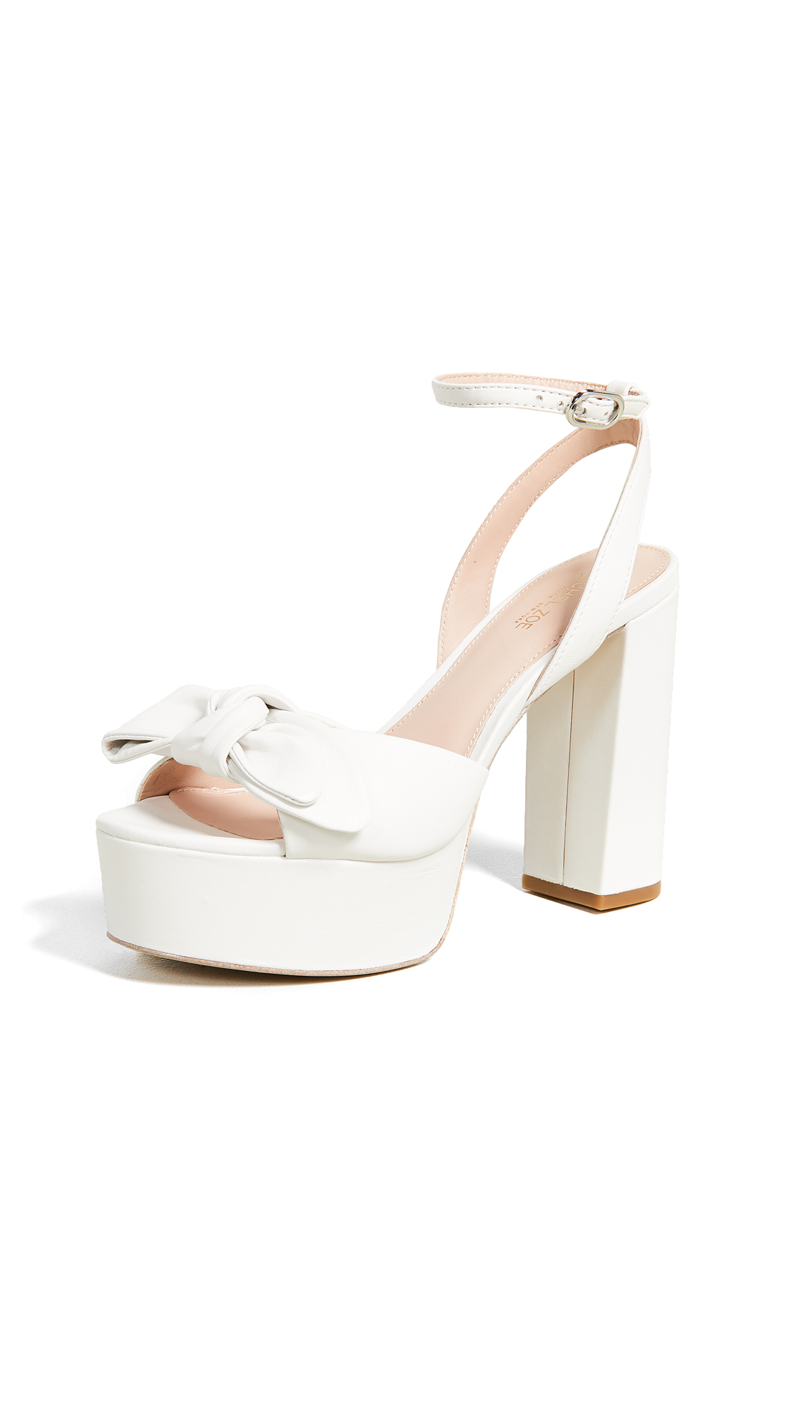 Rachel Zoe Courtney Platform Sandals - White