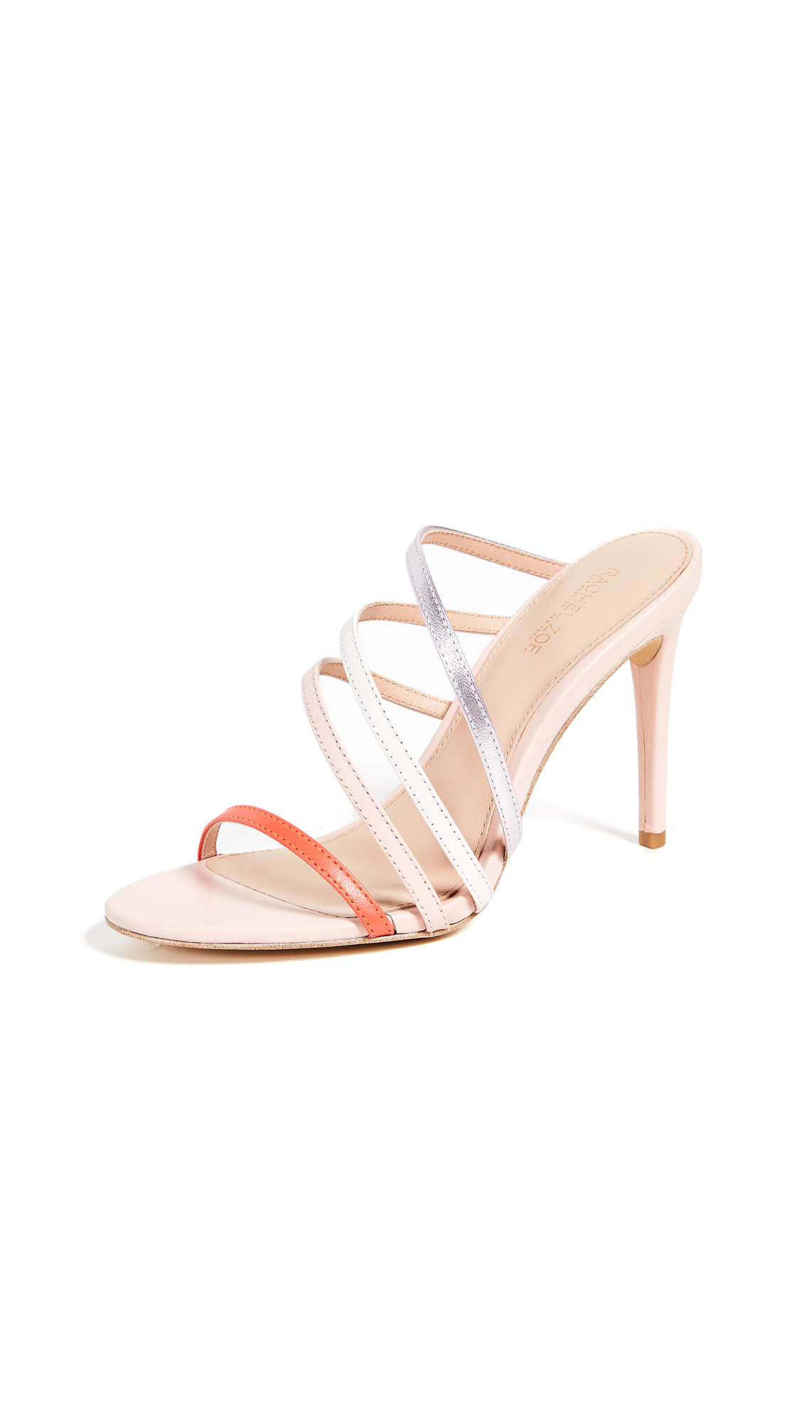 Rachel Zoe Hailey Asymmetrical Sandals - Kiss Multi