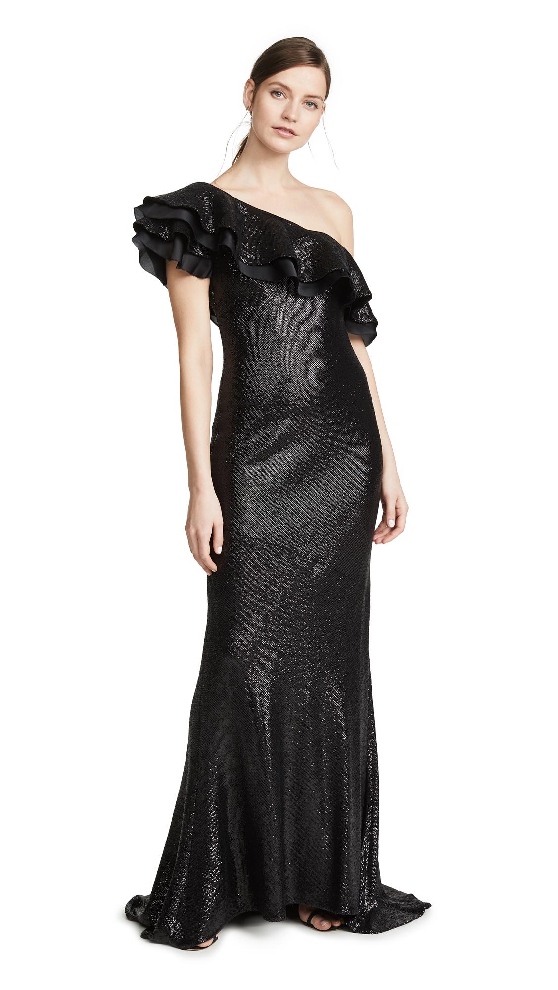 Rachel Zoe Jazz Gown - Black