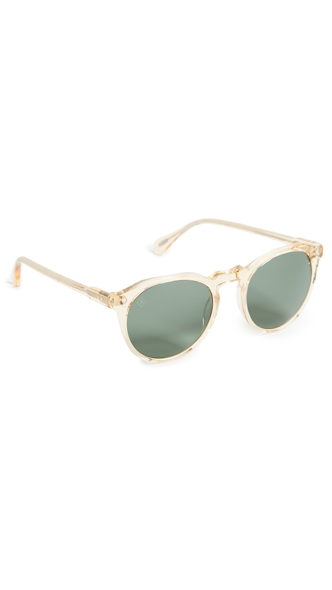 037768e9260 Raen Remmy 49 Sunglasses In Champagne Crystal Green Polari ...