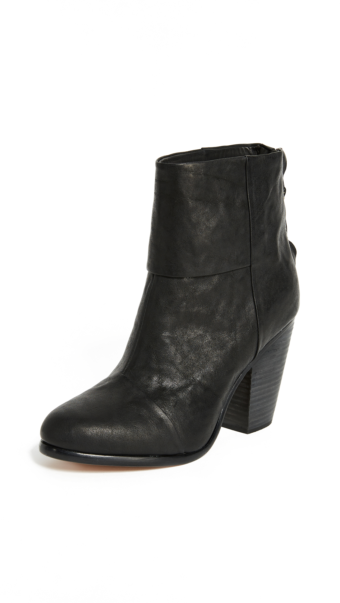 Rag & Bone Classic Newbury Booties - Black