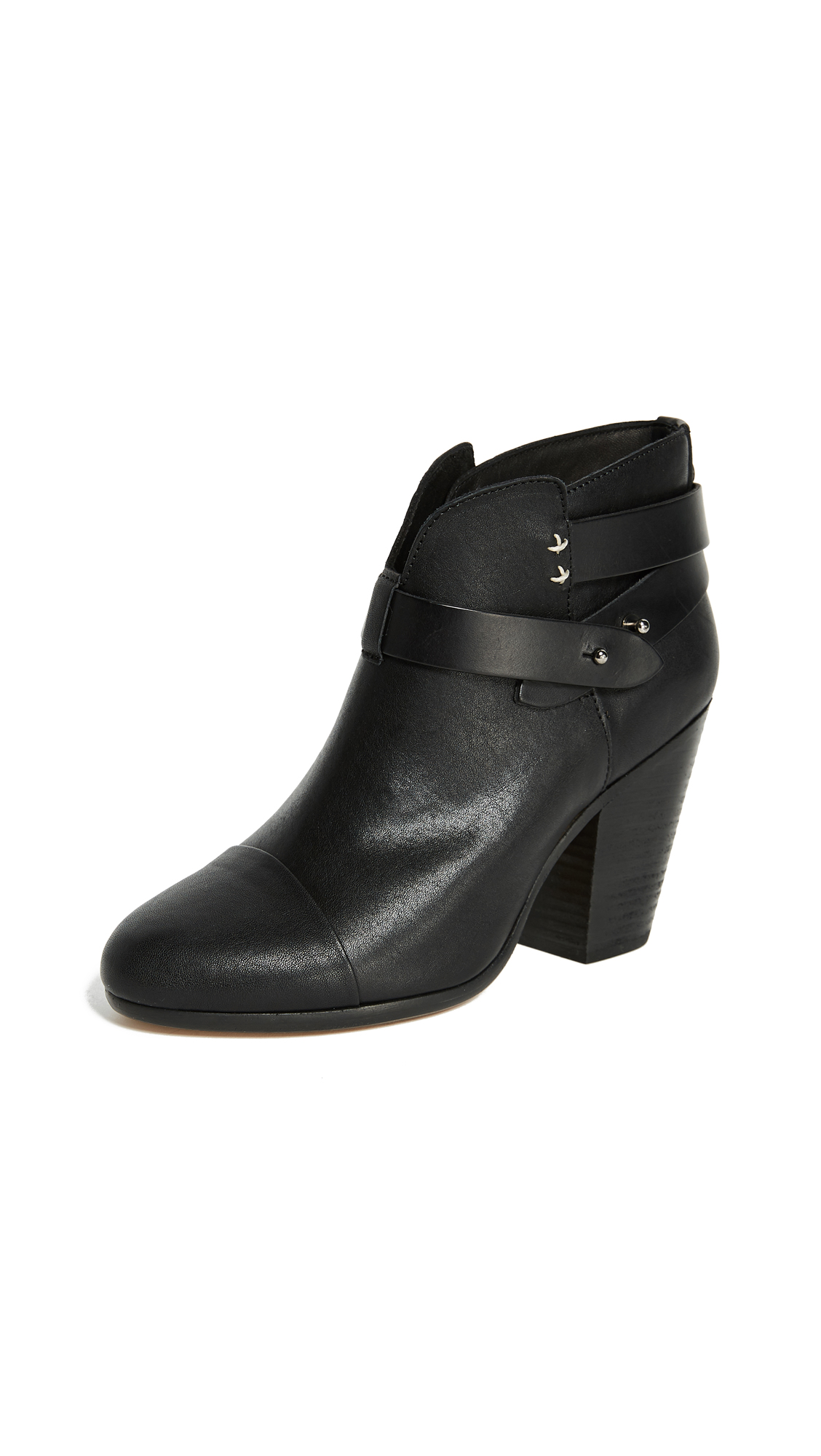 Rag & Bone Harrow Booties - Black