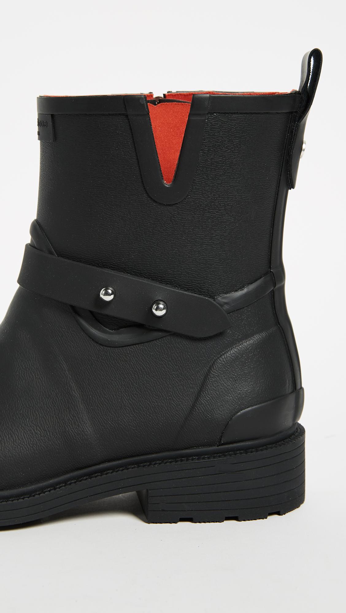 6117a84f1b4d Rag   Bone Moto Rain Boots