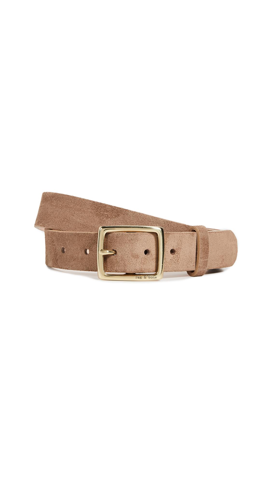 Rag & Bone Boyfriend Belt - Camel