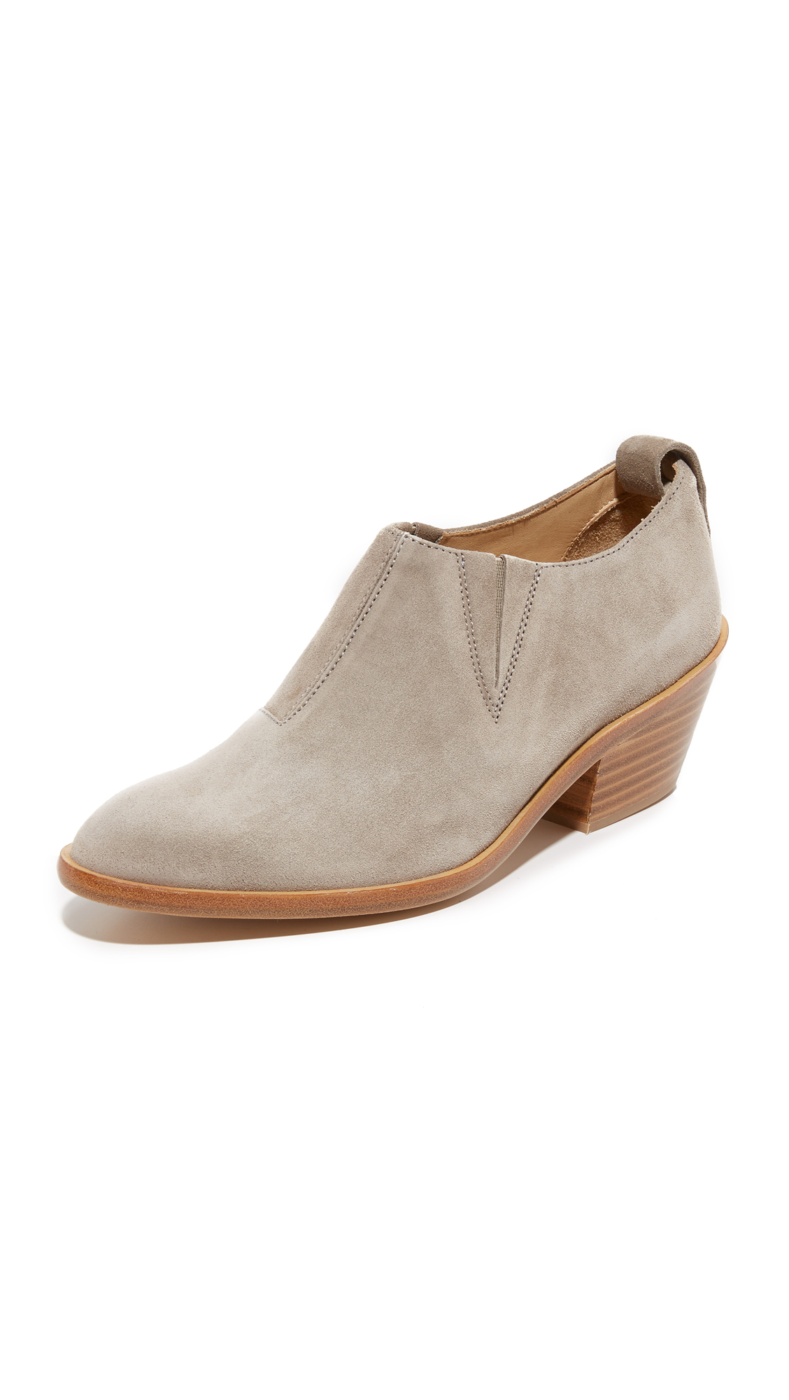 Rag & Bone Thompson Booties - Warm Grey