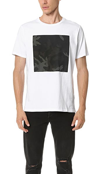 Rag & Bone Camo Graphic Tee