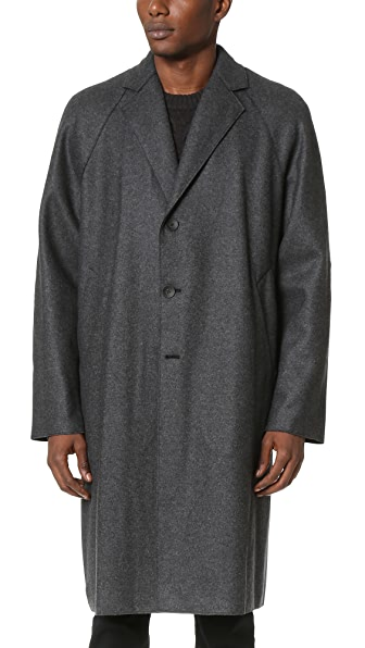 Rag & Bone Raymond Raw Edge Coat