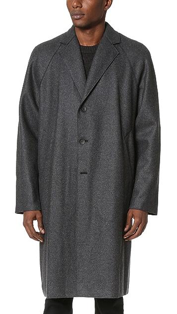 Rag & Bone Raymond Raw Edge Coat