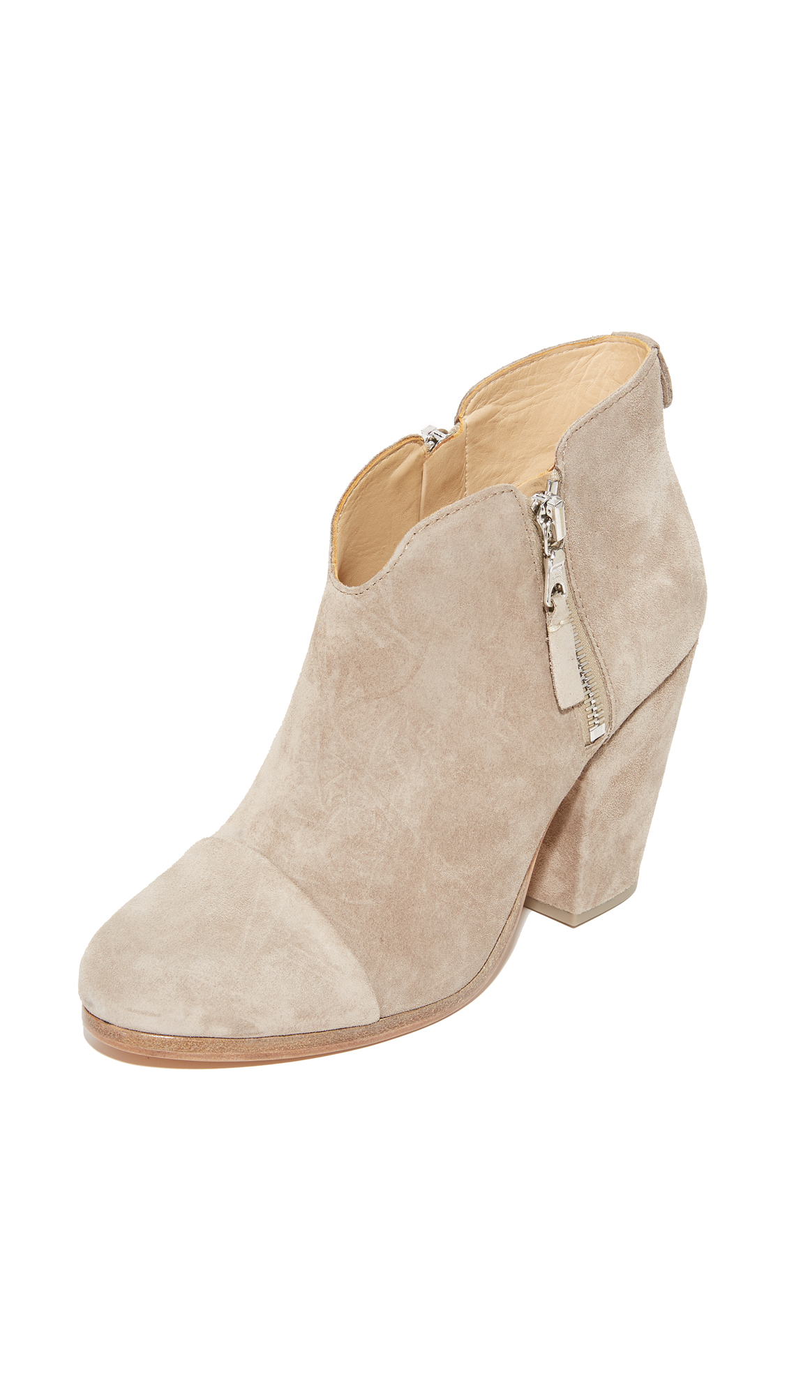 Rag & Bone Margot Booties - Stone