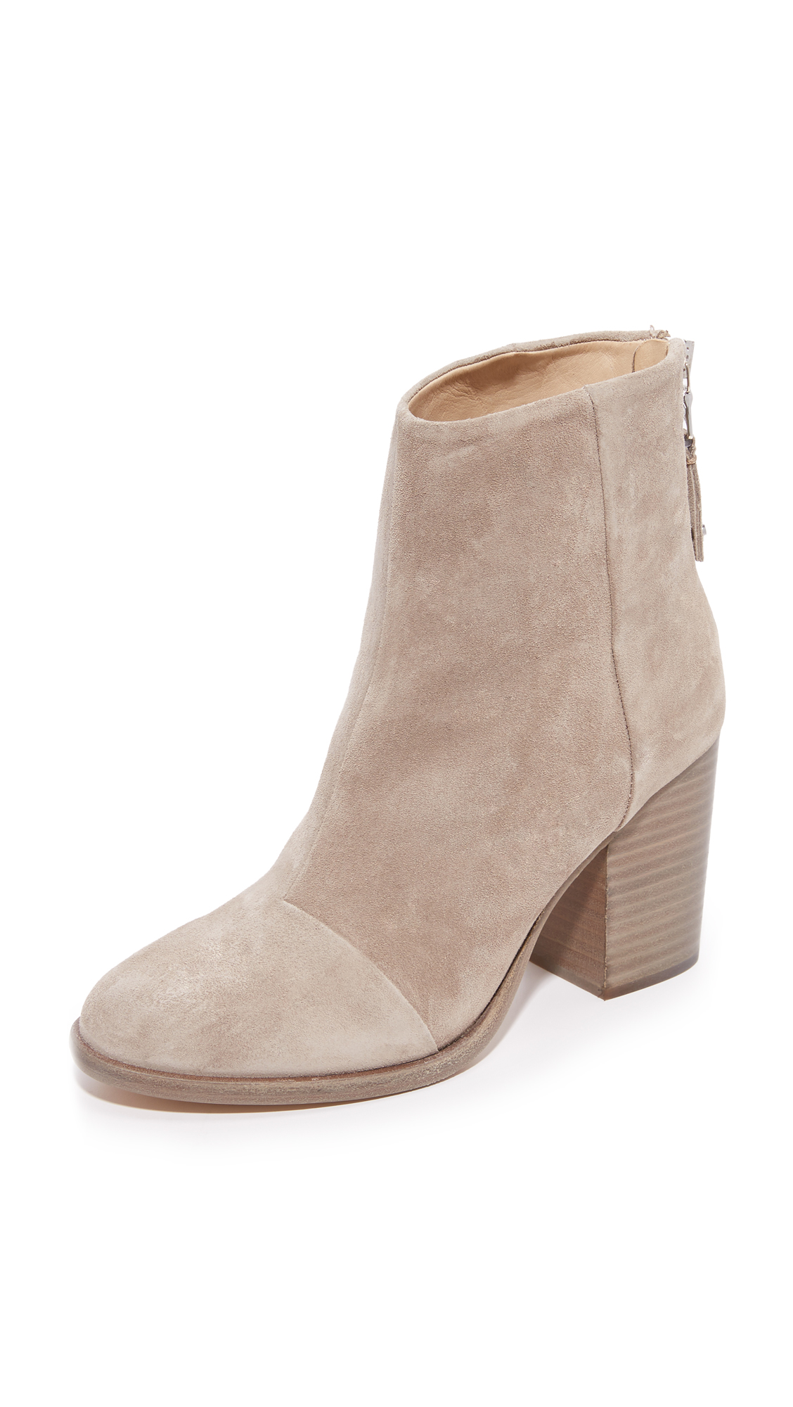Rag & Bone Ashby Ankle Booties - Stone