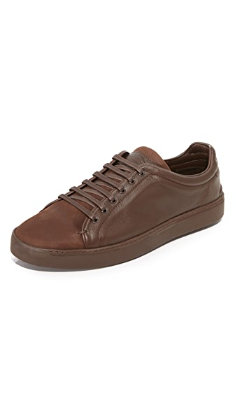 Rag & Bone Kent Matte Leather Sneakers