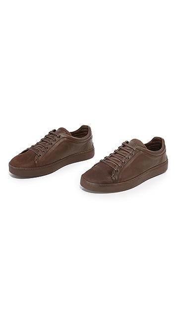 Rag & Bone Kent Matte Leather Sneakers
