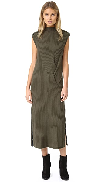 Rag & Bone Dale Dress - Army
