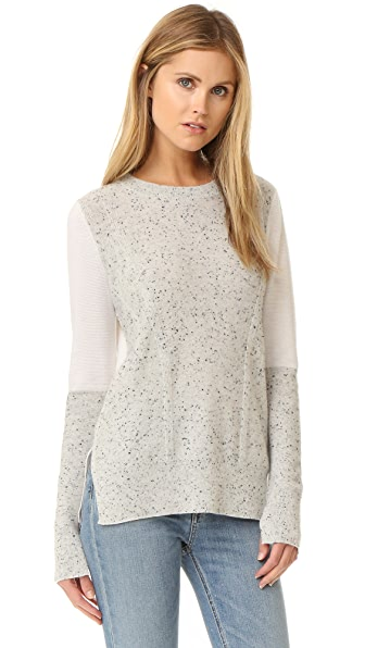 Rag & Bone Tamara Cashmere Sweater - Light Grey