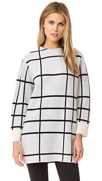 Rag & Bone Mallori Tunic Sweater - Ivory