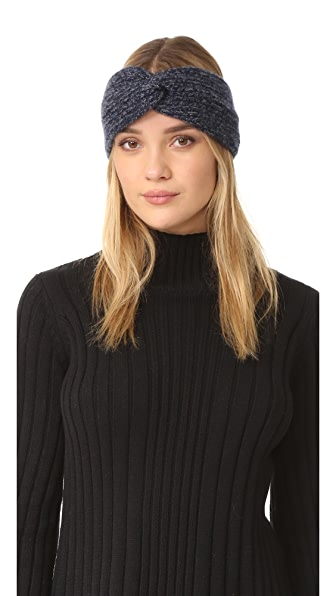 Rag & Bone Francesca Cashmere Headband - Navy at Shopbop