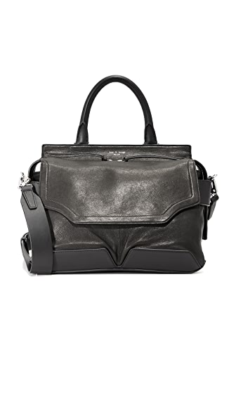Rag & Bone Pilot Satchel - Black
