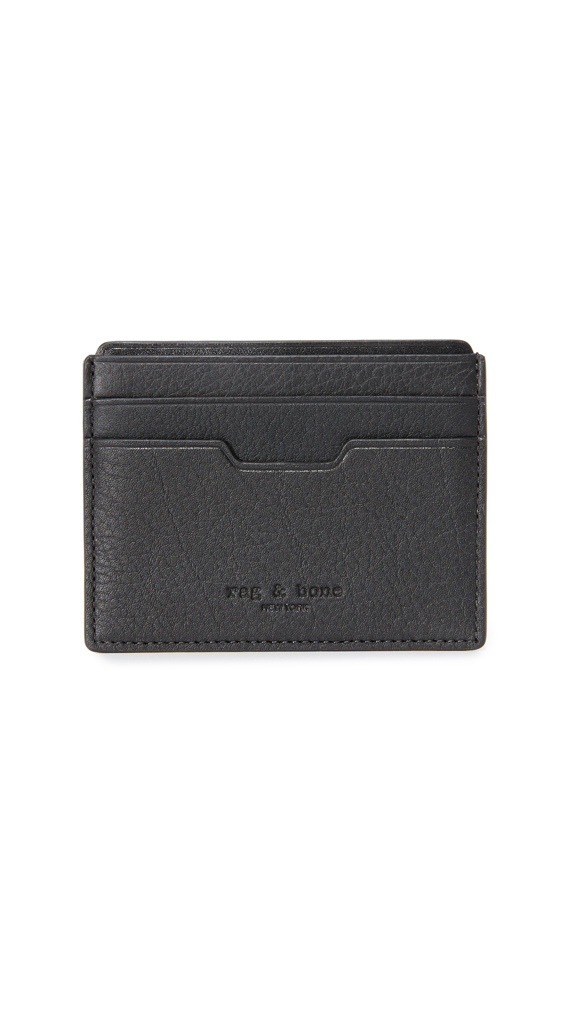 Rag & Bone Card Case - Black