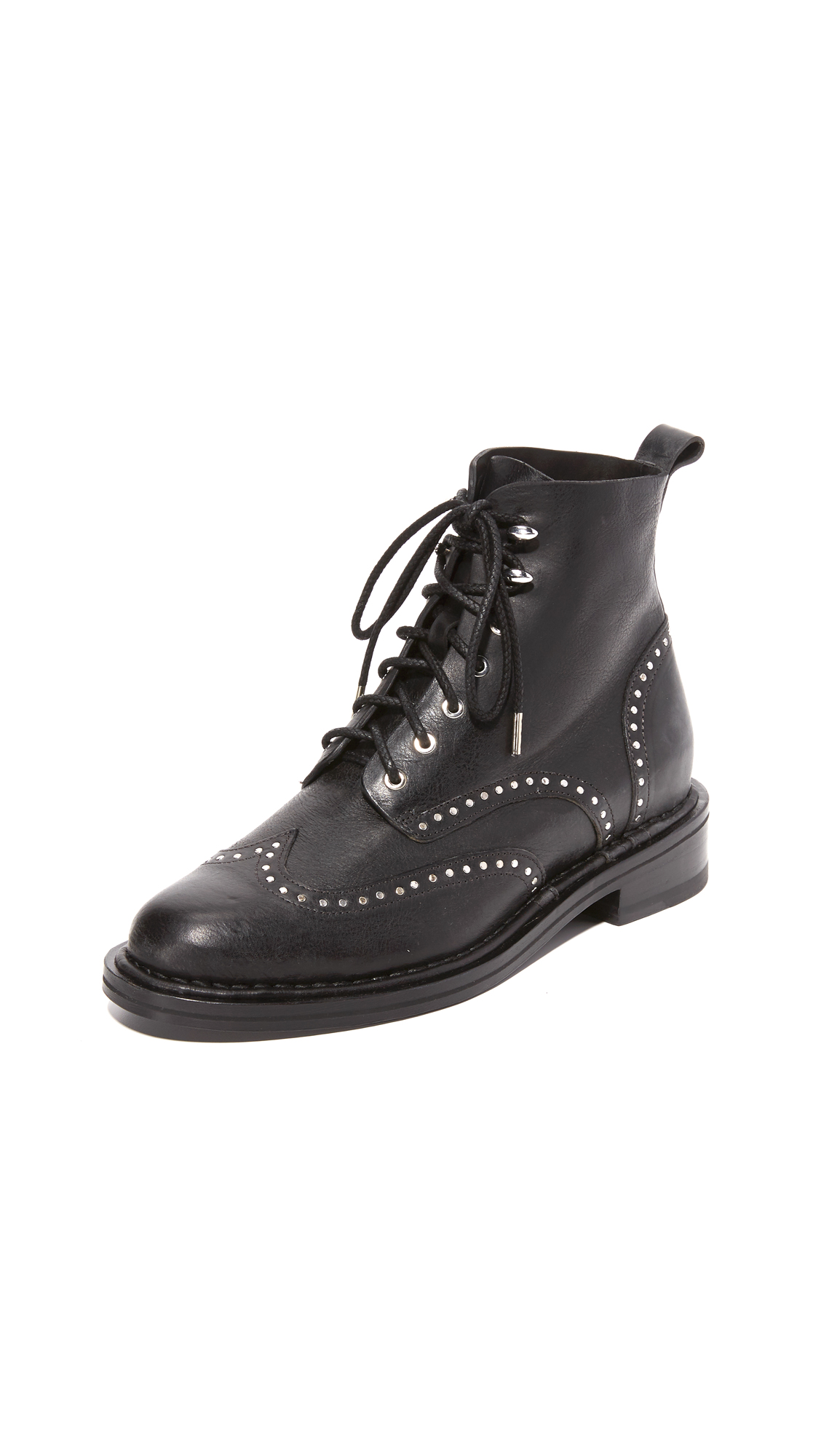 rag bone female rag bone cozen studded boots black