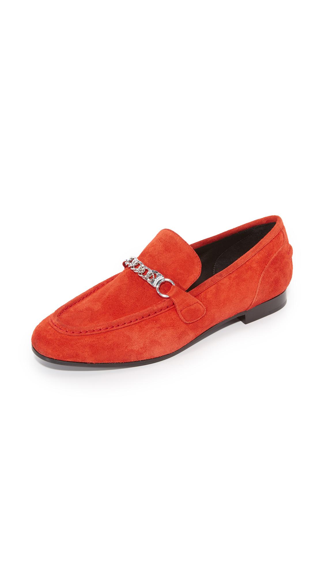rag bone female rag bone cooper loafers red
