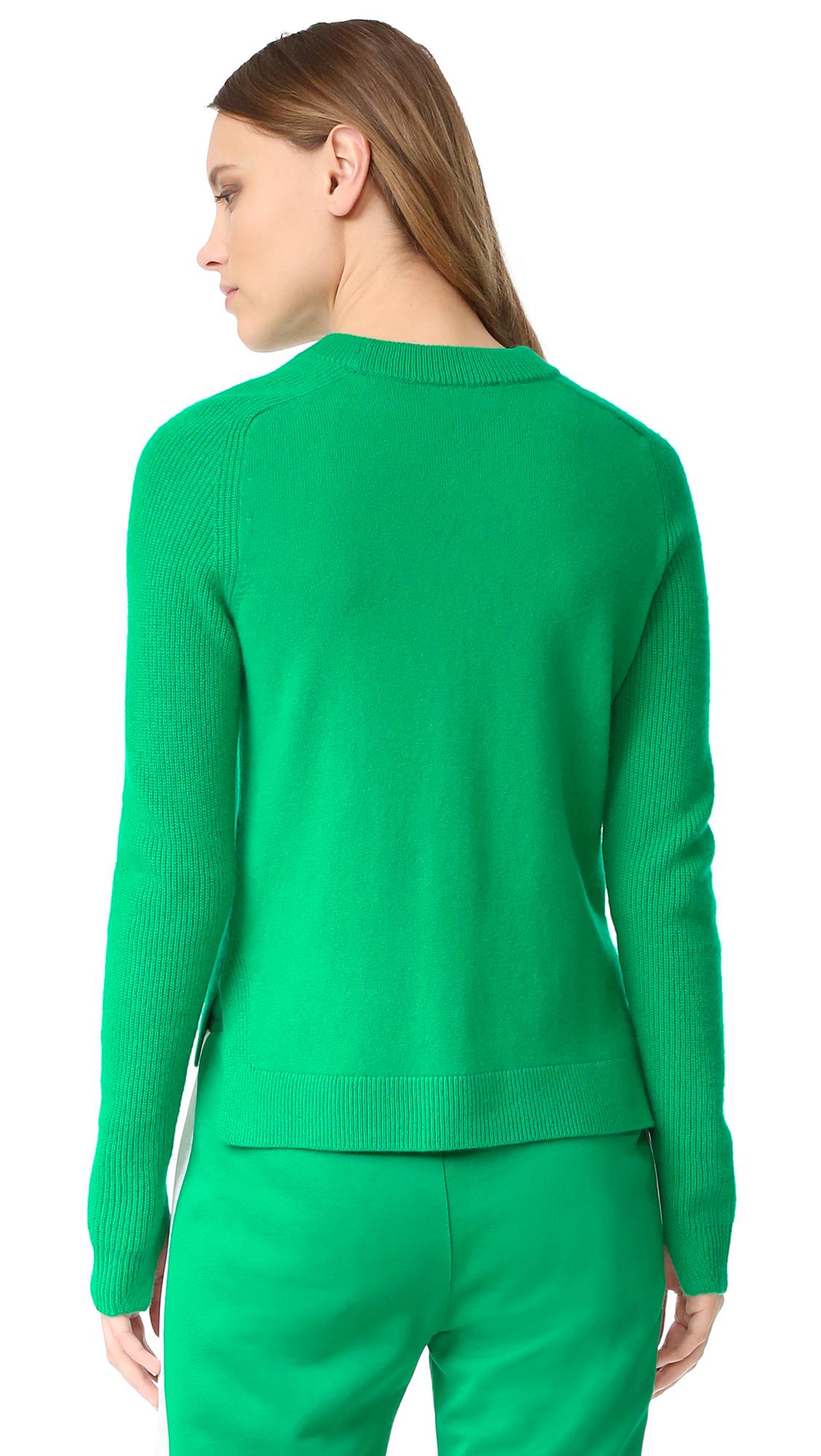 ac4ce8ce579a5d Rag   Bone Valentina Cashmere Crop Sweater