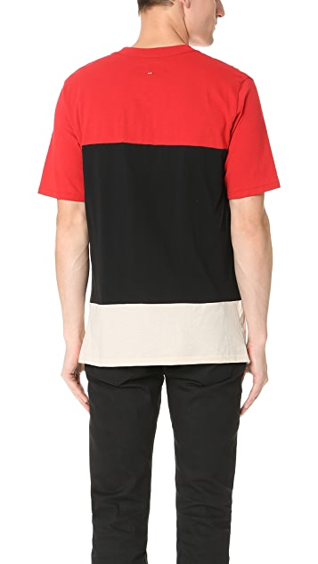 Rag & Bone Colorblock Precision Tee