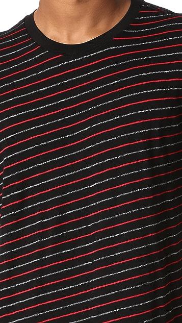 Rag & Bone Striped Colin Tee